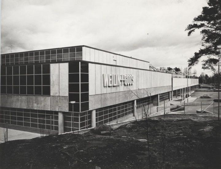 Southern corner, second phase, The WeeGee Exhibition Centre (Weiling & Göös Printing House)