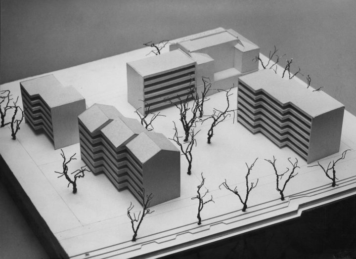 Scale model, Wilenia Housing