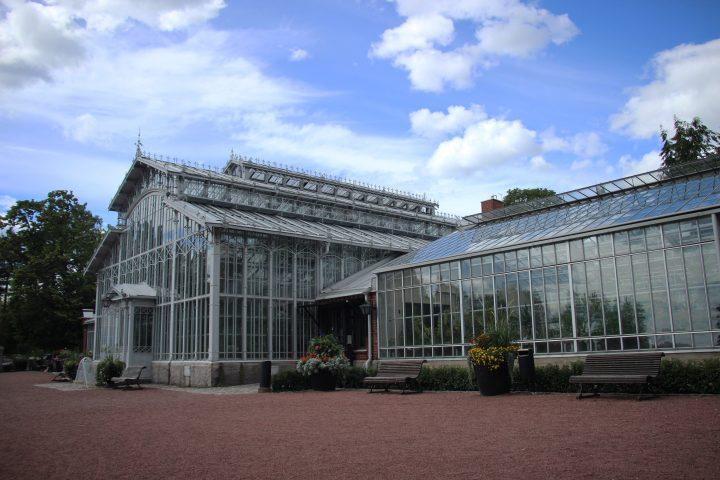 The main façade, Winter Garden