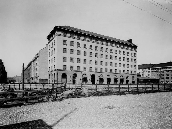 View from the south in 1928, Helsinki YWCA House