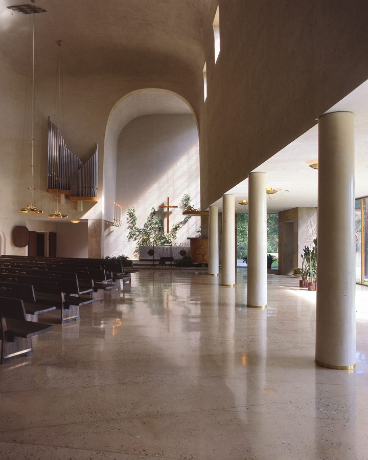 View from the nave towards the altar, Resurrection Chapel