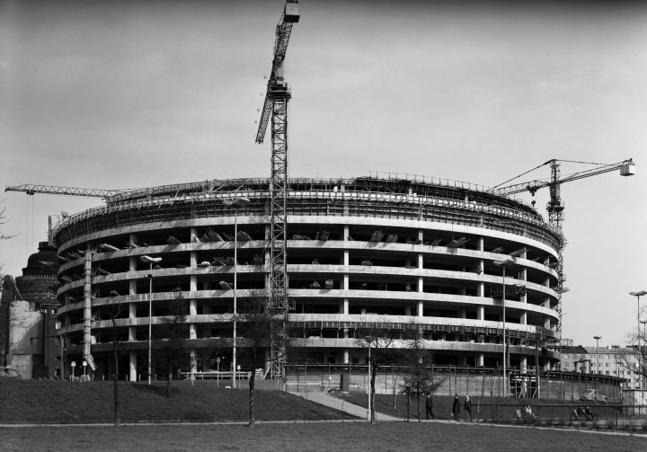 The construction of the building, Circle House