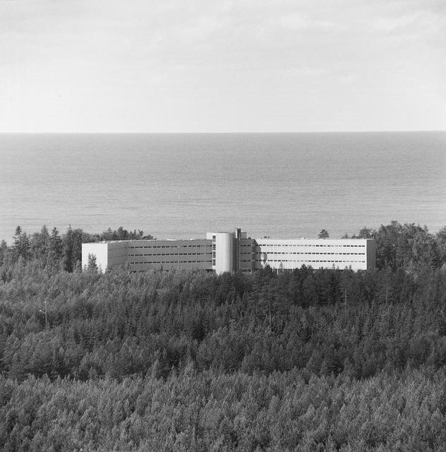 Aerial view, Hotel Yyteri