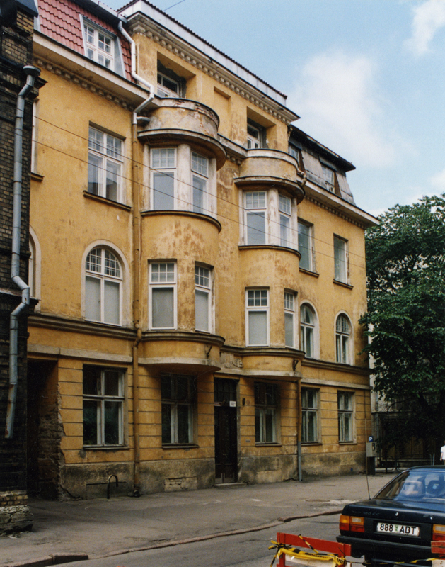 Photo from 1998, Friedrich Akel House