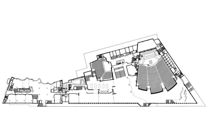 Plan, Finlandia Hall