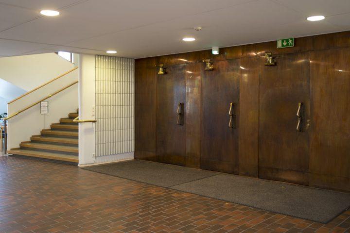 Entrance lobby, Alvar Aalto Museum