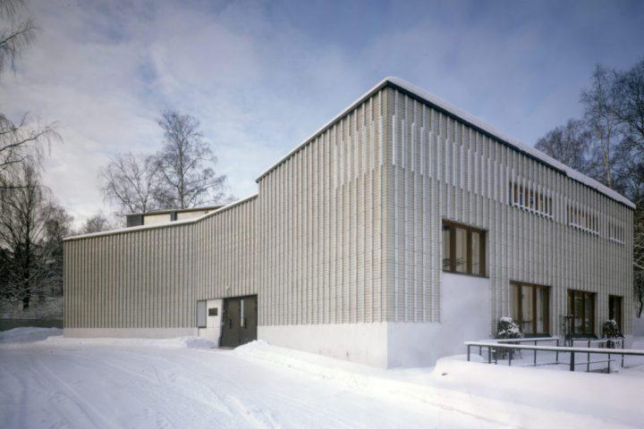 Entrance facade, Alvar Aalto Museum