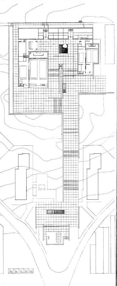 Floor plan, Lauttasaari Church