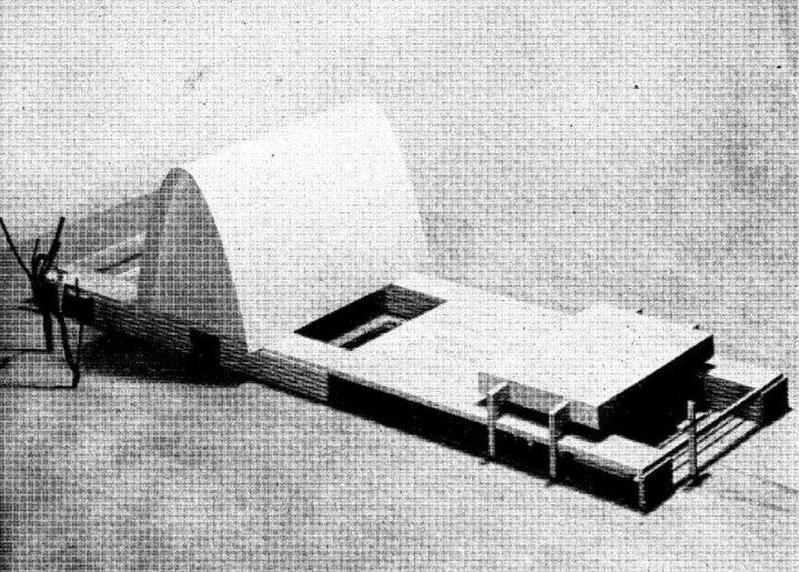 Scale model, Vatiala Chapel