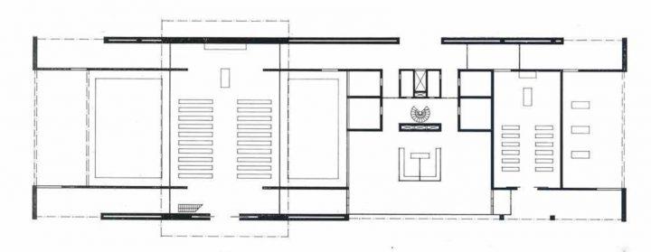 Floor plan, Vatiala Chapel