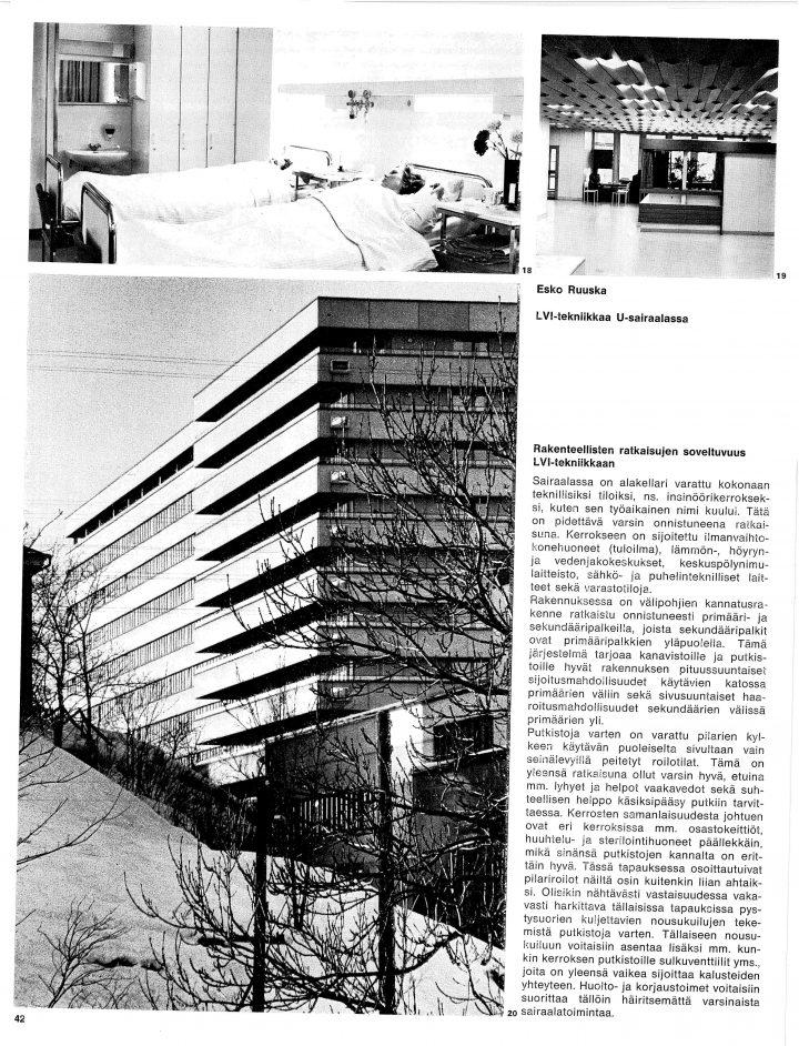 Details of the HPAC plan, Turku University Hospital, U Hospital