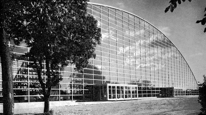 Main elevation, Kupittaa Sports Hall