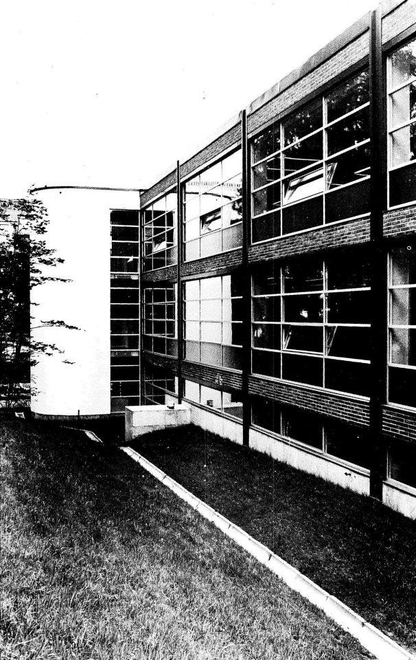 Northwest elevation, University of Jyväskylä Library