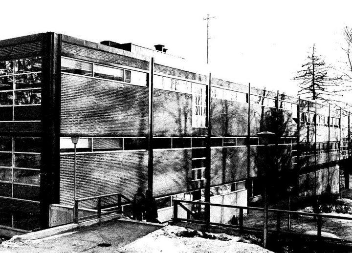 Southwest elevation , University of Jyväskylä Library