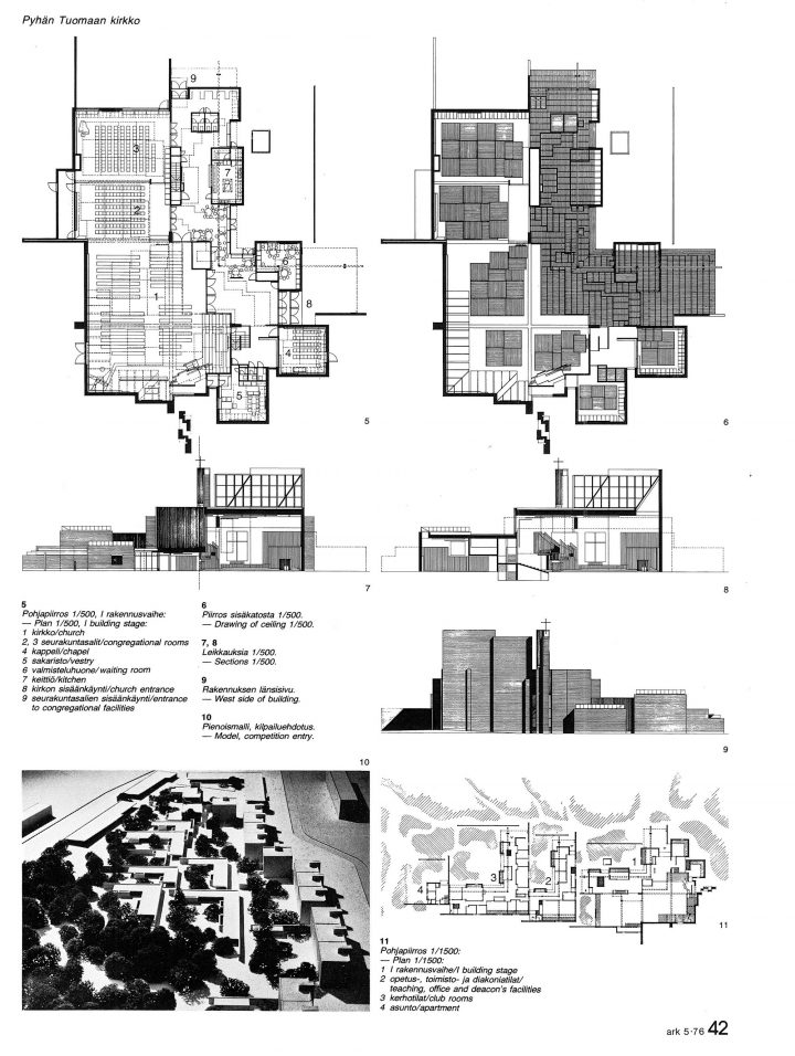 Original plans of St Thomas Church, St. Thomas Church