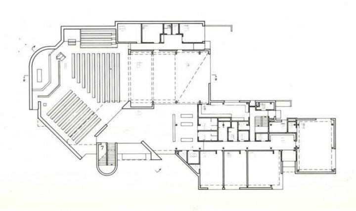 Floor plan, The Church of Bishop Henry