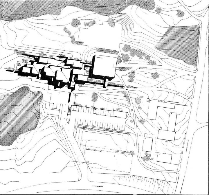 Site plan, Kirkkonummi Parish Centre