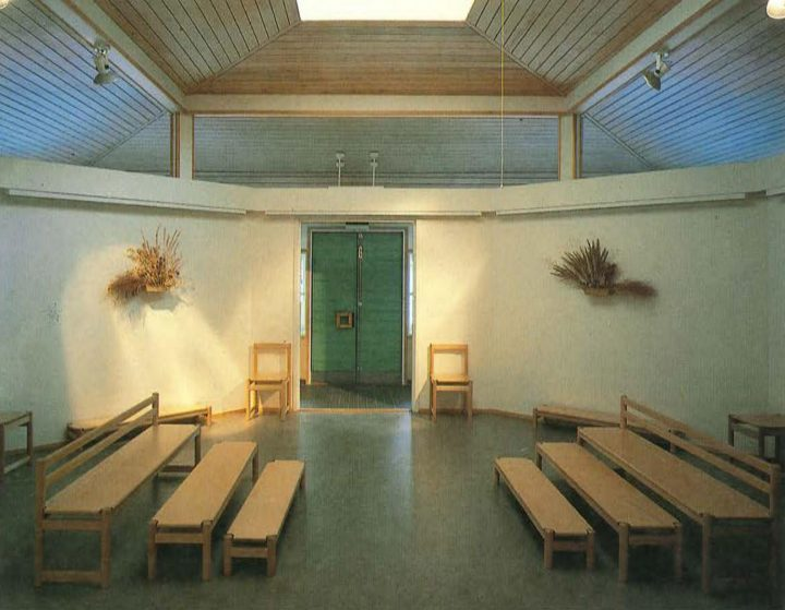 Gym and main hall, Ravuri Daycare Centre