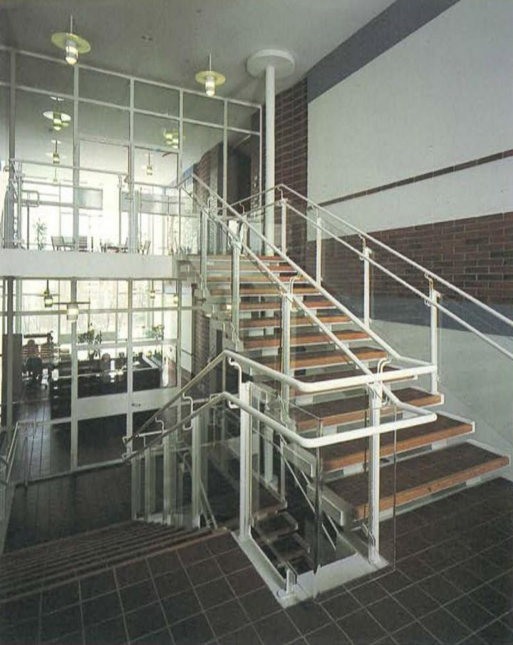 Stairwell, Tikkurila Headquarters