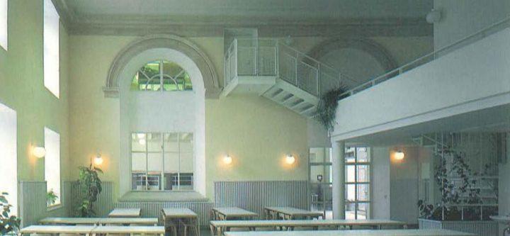 Dining room, Katajanokka School and Luotsi Daycare Centre