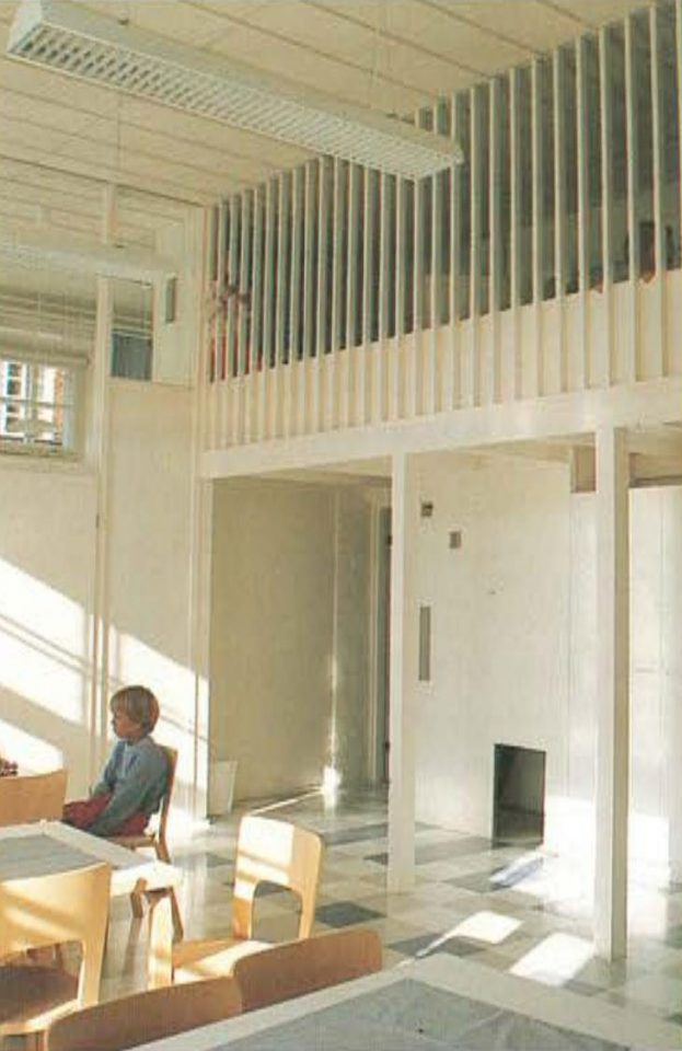 Interiors of the daycare centre, Katajanokka School and Luotsi Daycare Centre