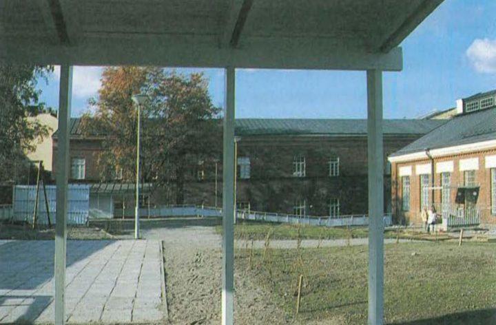 Luotsi daycare centre yard, Katajanokka School and Luotsi Daycare Centre