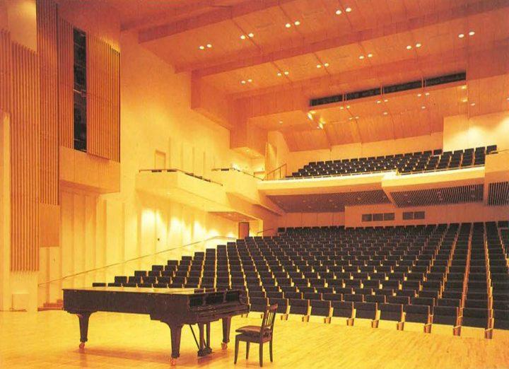 Concert hall, Imatra Cultural Centre