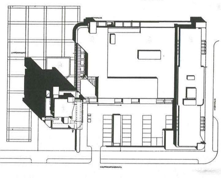Site plan, Itäkeskus Landmark