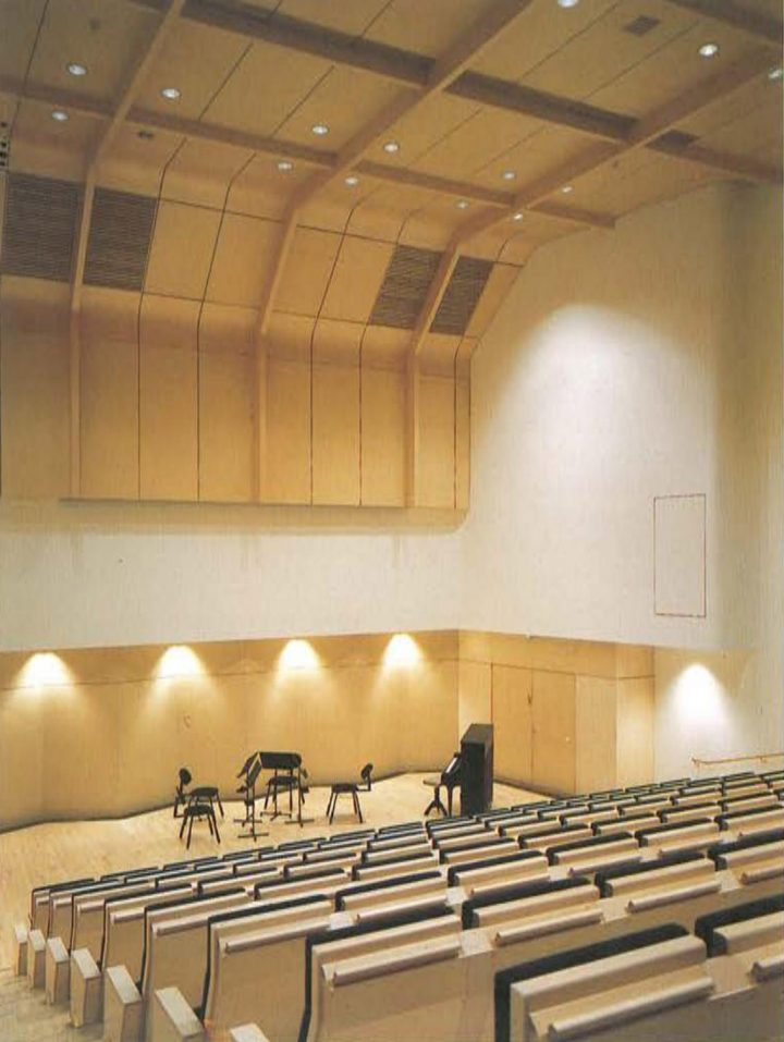 Small auditorium, Concert and Congress Hall Mikaeli
