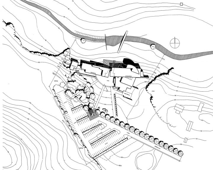 Site plan, Pirkkala Church