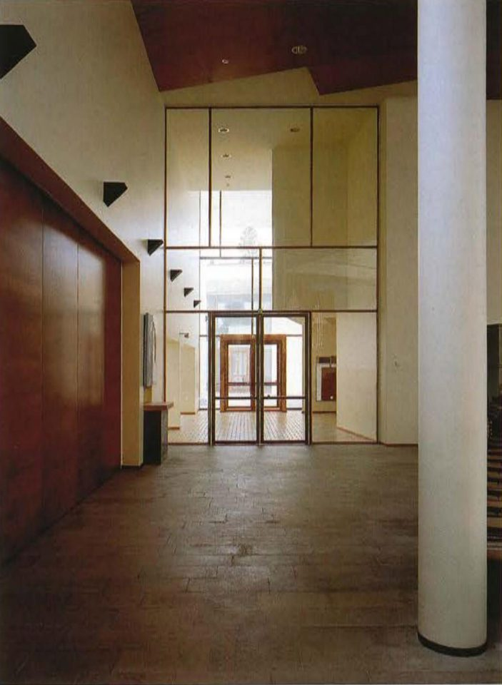 Foyer, Pirkkala Church