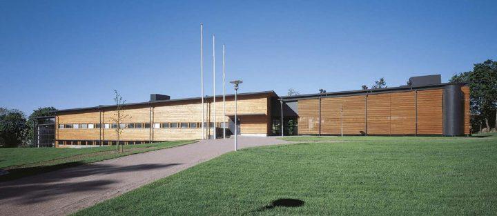 Eastern façade, Porvoo City Library