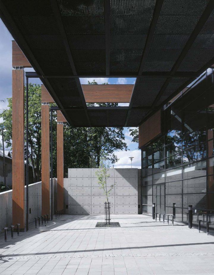 Northern entrance, Porvoo City Library