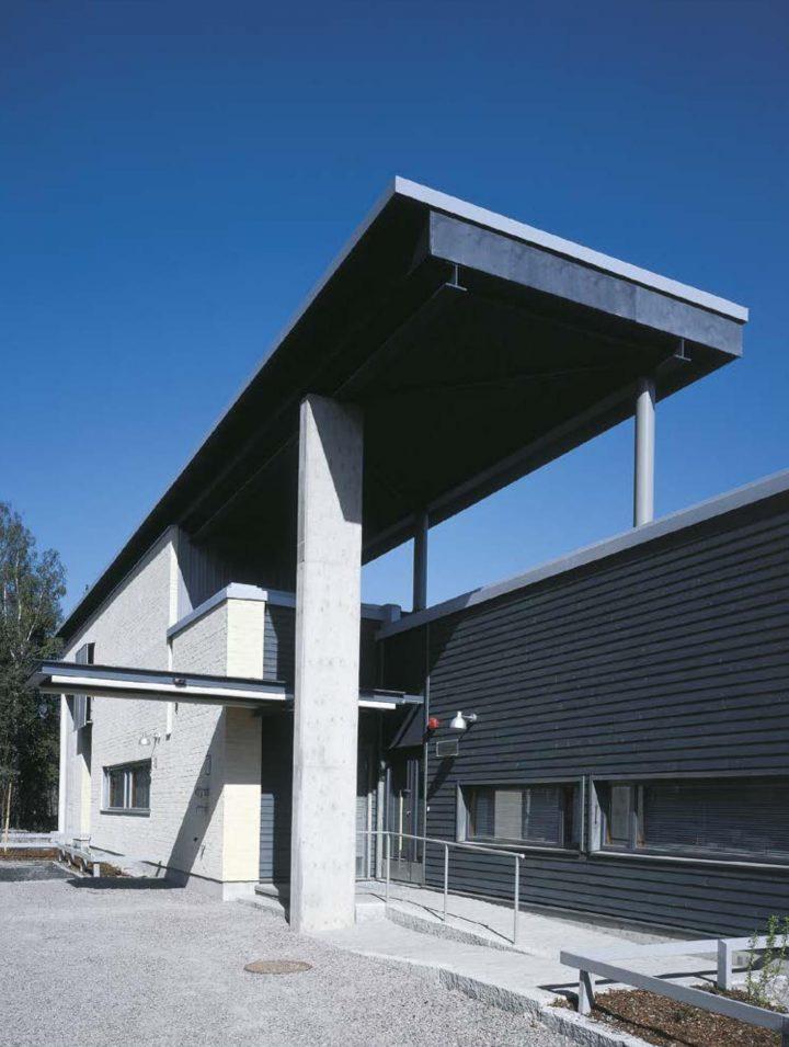 Northern elevation, Pehtoori Daycare Centre
