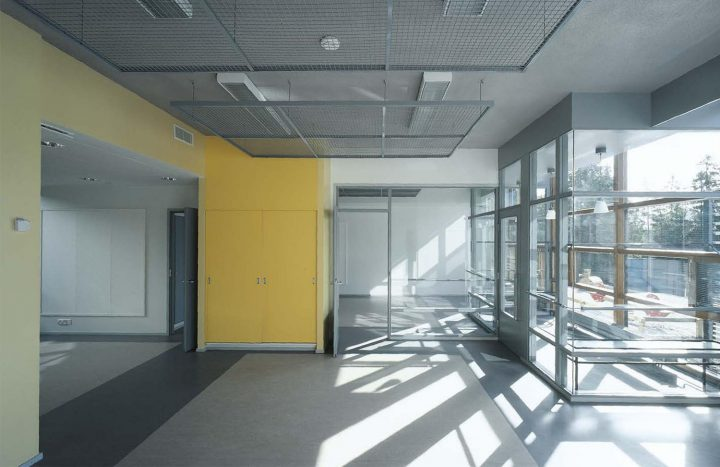 Unfurnished yellow cell, Pehtoori Daycare Centre