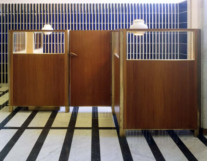 Preserved cubicle in 1997, National Pensions Institute