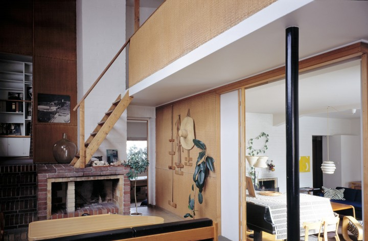 From studio to the living room, The Aalto House