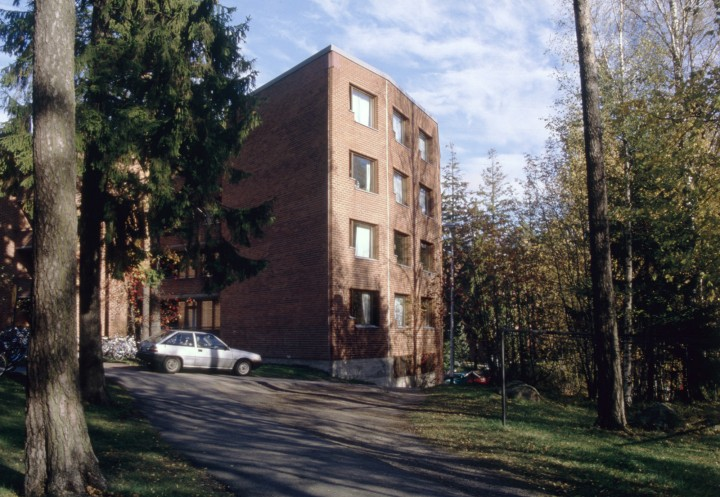 South end of the building, Helsinki University of Technology Student Dormitory