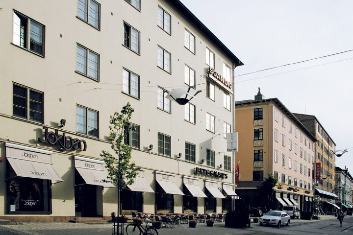 Yliopistonkatu street façade., Hospitz Betel