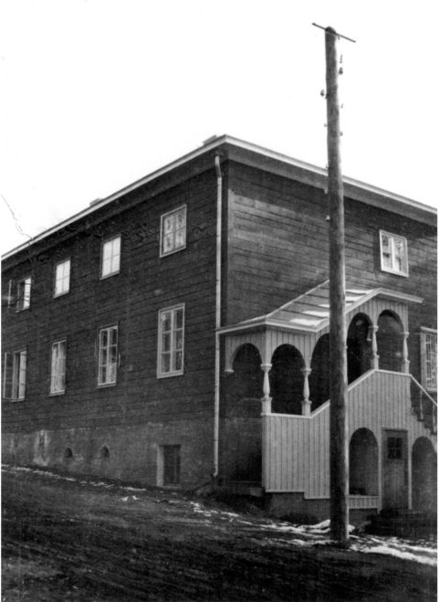 Street facade, Casa Lauren