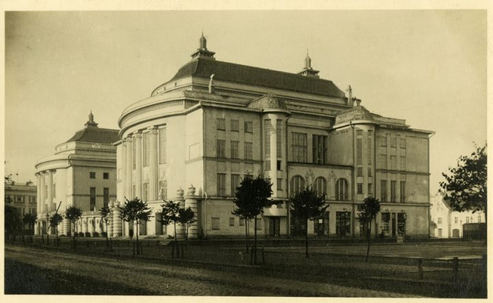 Photo from before the war, Estonia Theatre