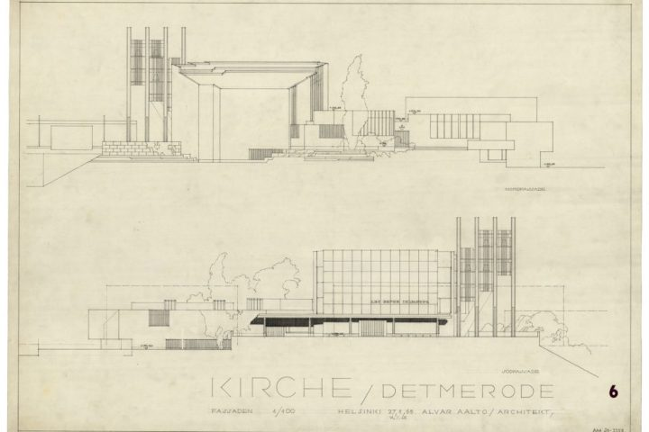Elevations, Detmerode Church and Parish Centre