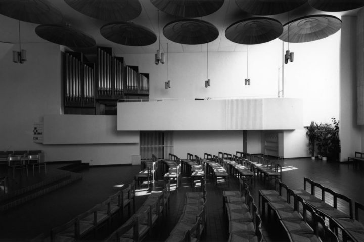 The church hall, Detmerode Church and Parish Centre