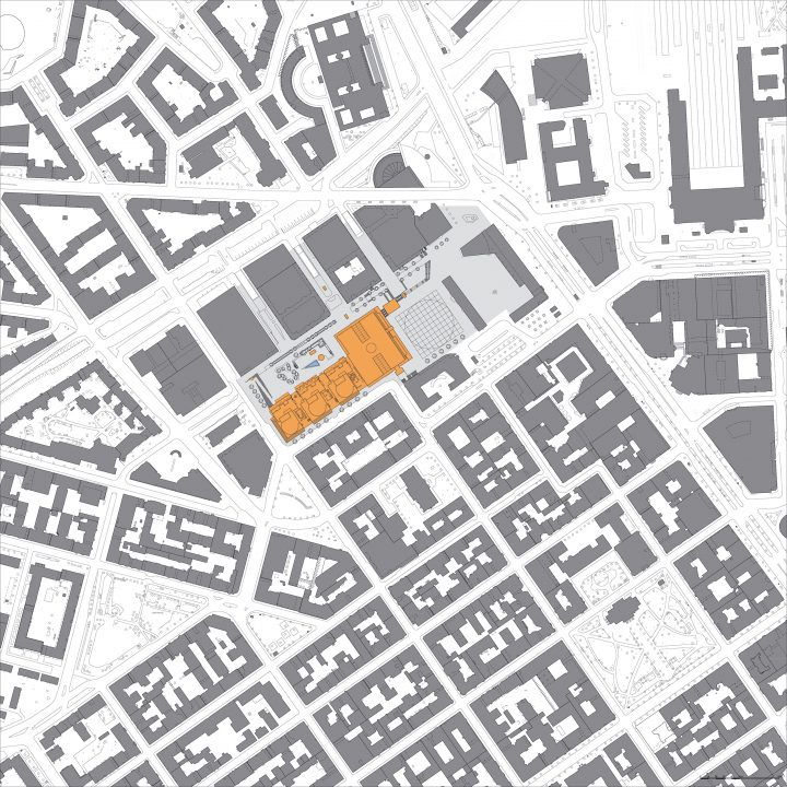 Town plan, Kamppi Shopping Centre and Public Transport Terminal