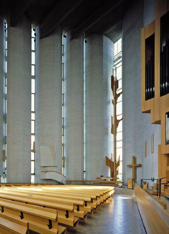 Church interior, Kaleva Church