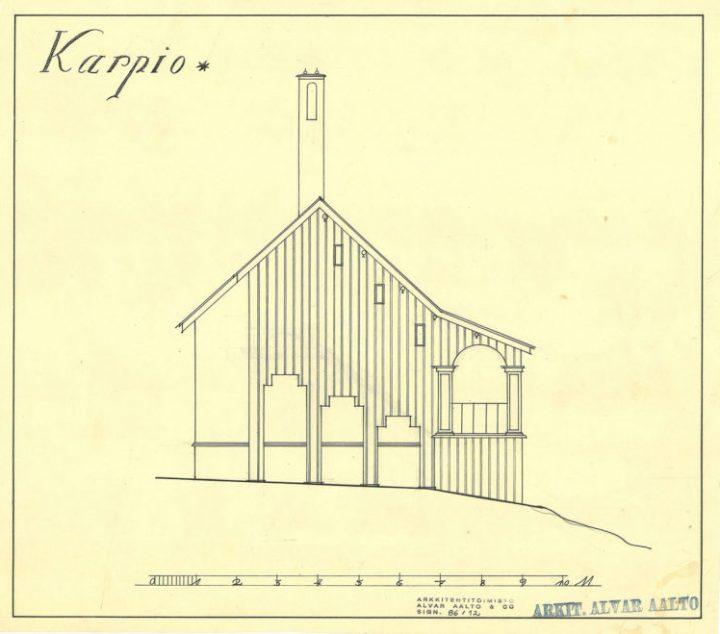 Elevation, Villa Karpio