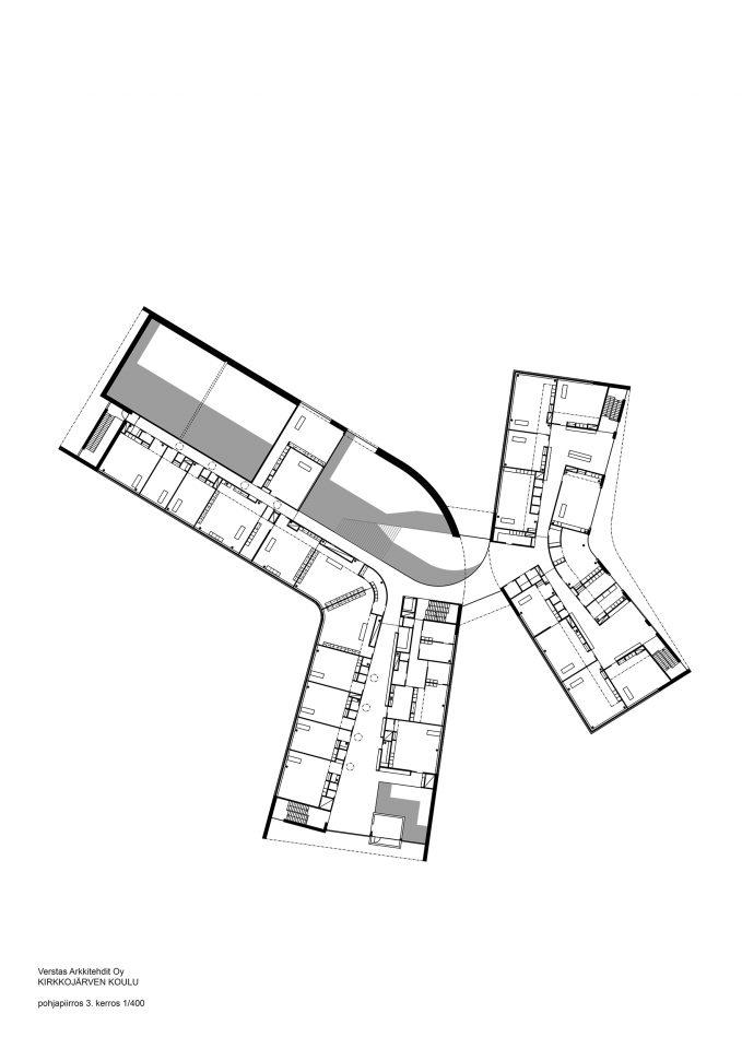 3rd floor, Kirkkojärvi School