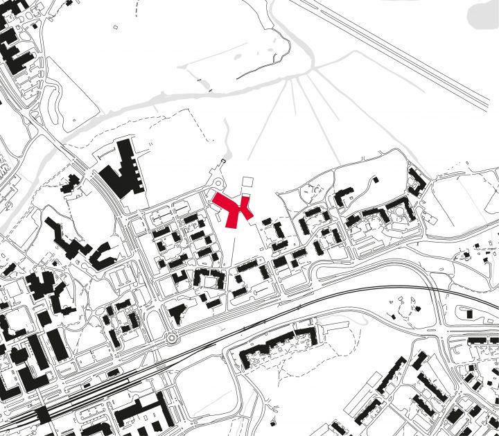 Siteplan, Kirkkojärvi School
