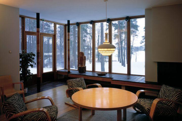 Living room, Kantola House