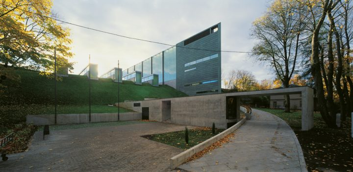 Entrance side, Kumu, Art Museum of Estonia